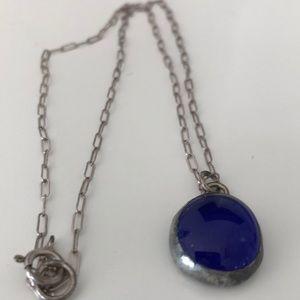 Jewelry - Navy Glass Necklace